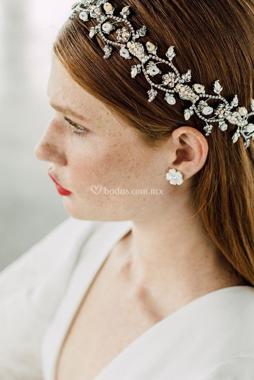 MACKENSIE HALO, Maria Elena Headpieces