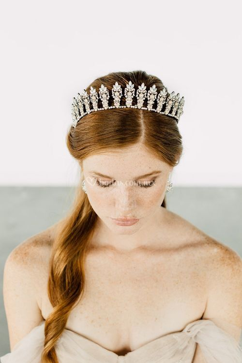 RAVEN CROWN, Maria Elena Headpieces