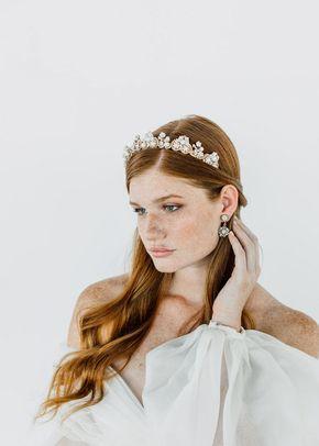 WHISTLEDOWN CROWN, Maria Elena Headpieces