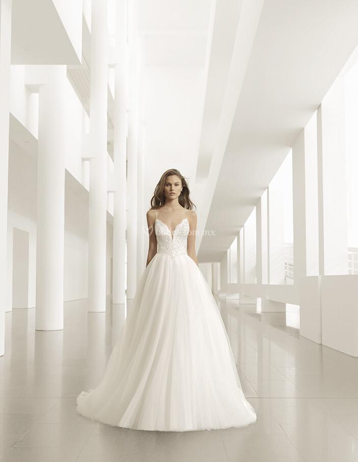vestido de novia de rosa clará - pravia
