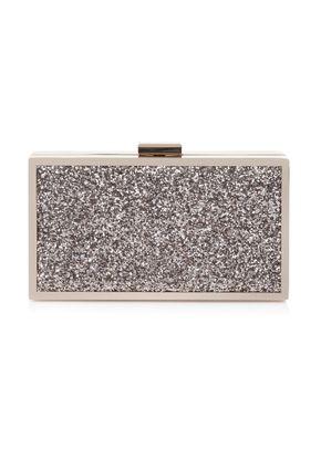 Quartz Glitter Clutch Bag, 475