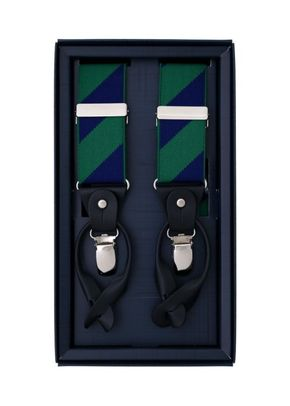 DIAGONAL  SS NAVY & GREEN, Scalpers