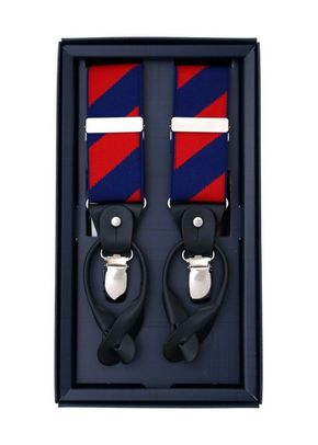 DIAGONAL  SS RED & NAVY, Scalpers