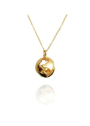 World Globe Necklace, Cristina Ramella