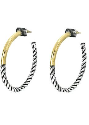 EMMA SMALL HOOPS, Lucca Luc