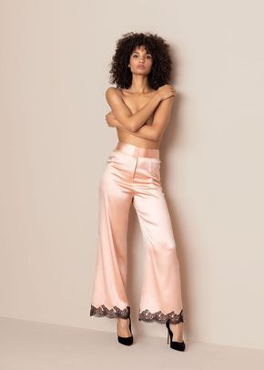 Amelea Pyjama Bottom PinkBlack, Agent Provocateur