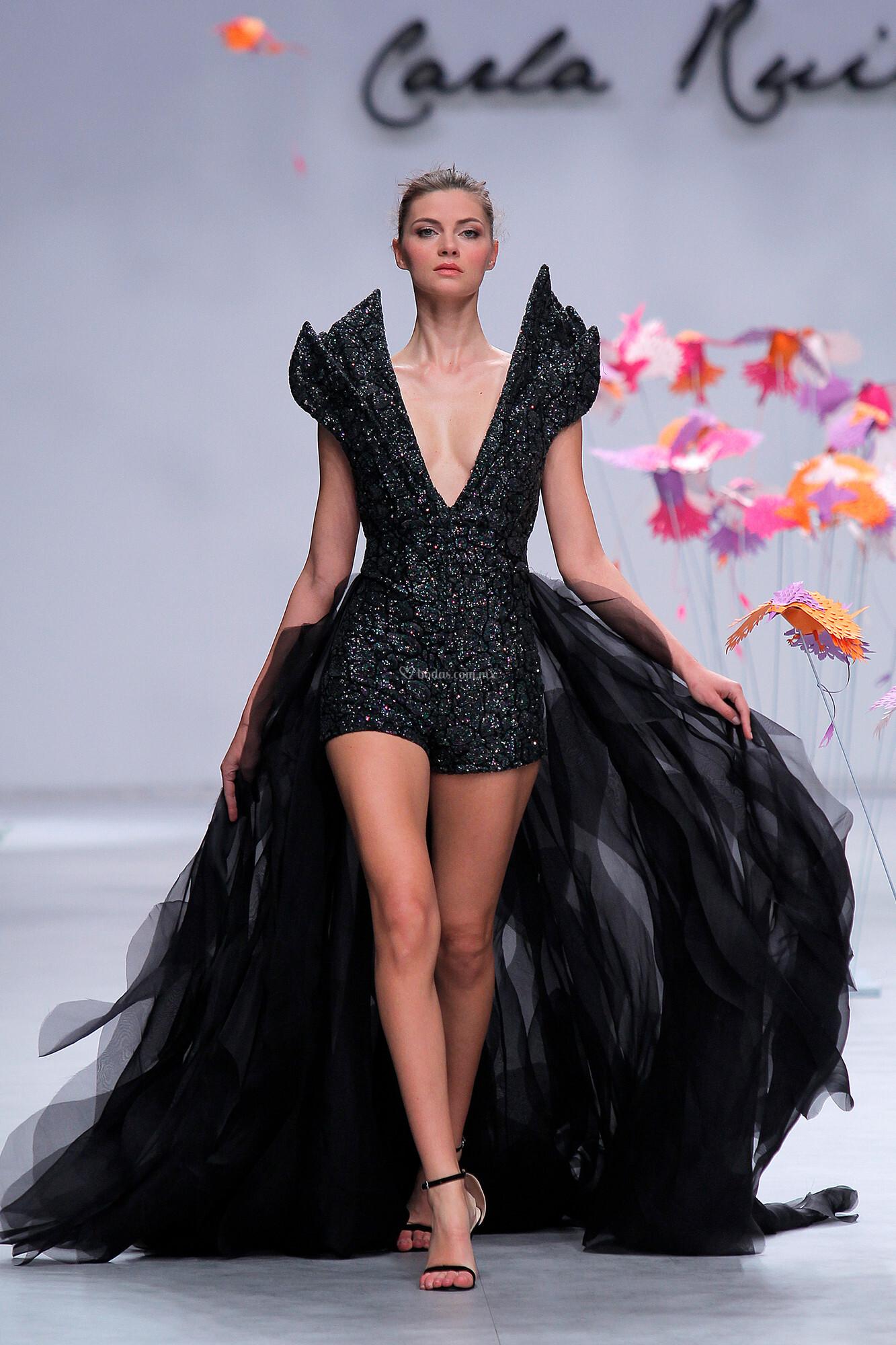 Vestido de Fiesta de Carla Ruiz - CR 025