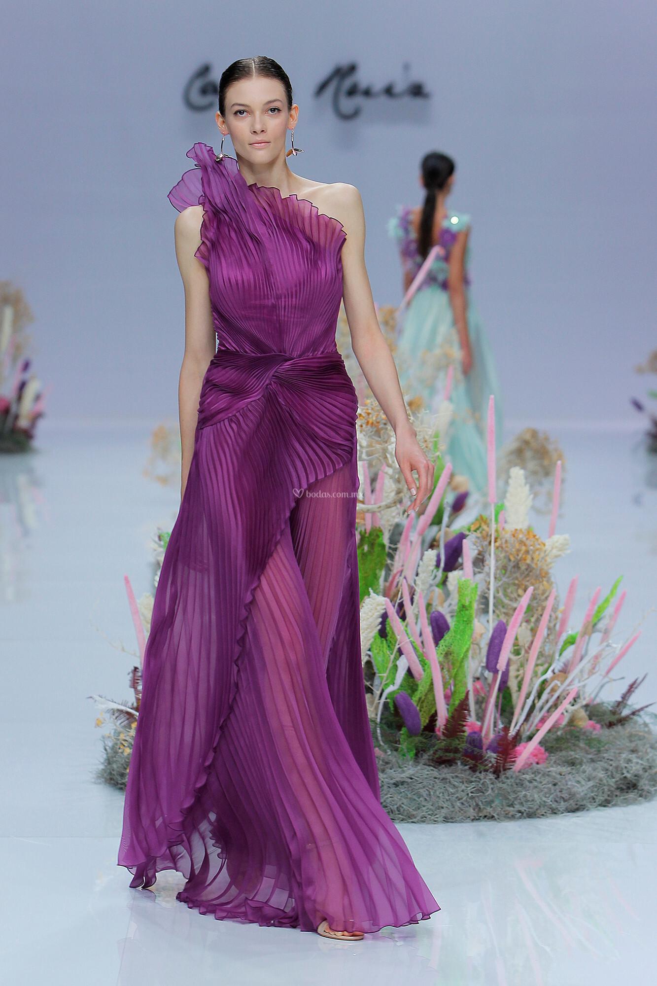 Vestido de Fiesta de Carla Ruiz - CR 029