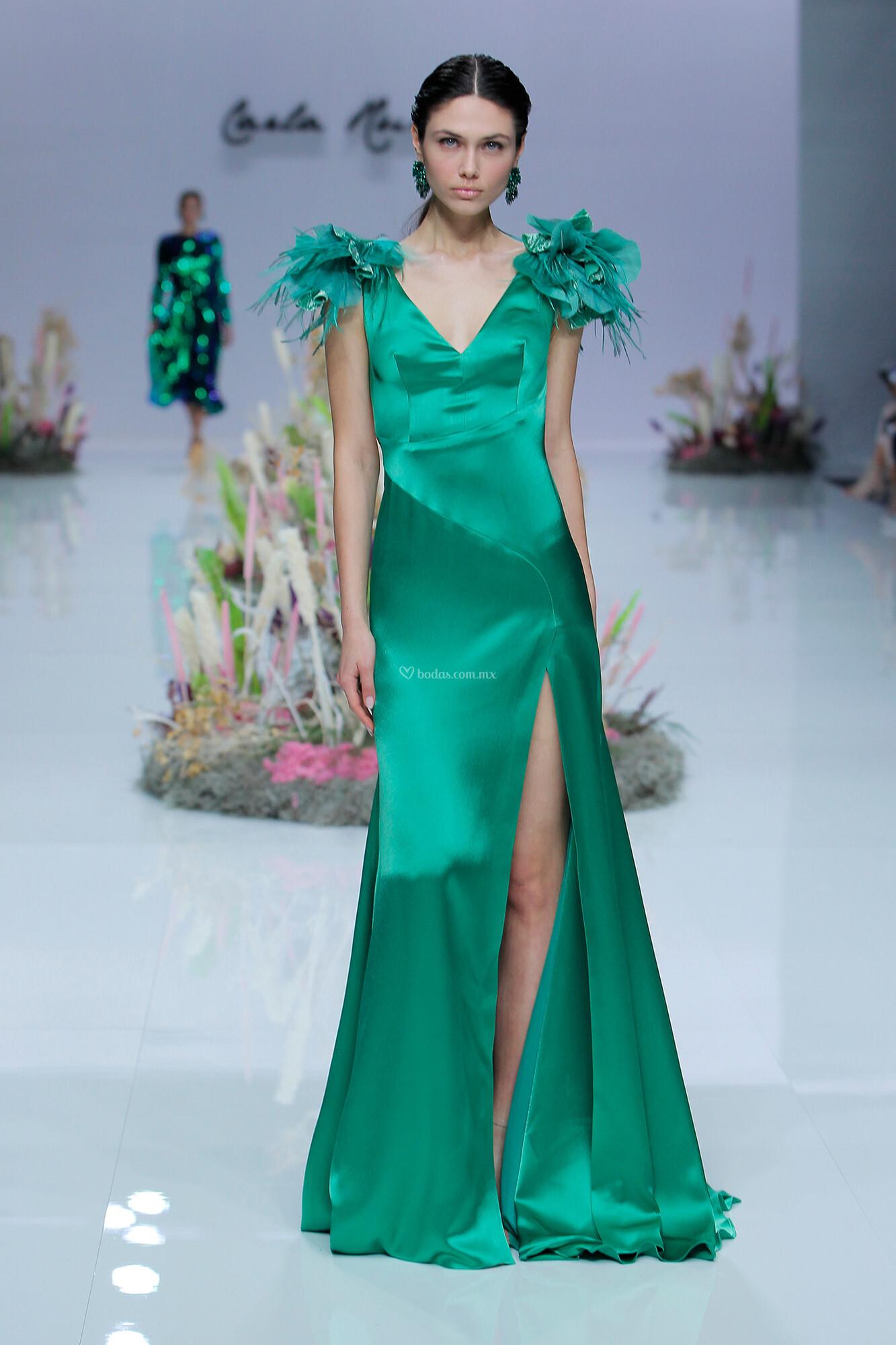 Vestido de Fiesta de Carla Ruiz - CR 002