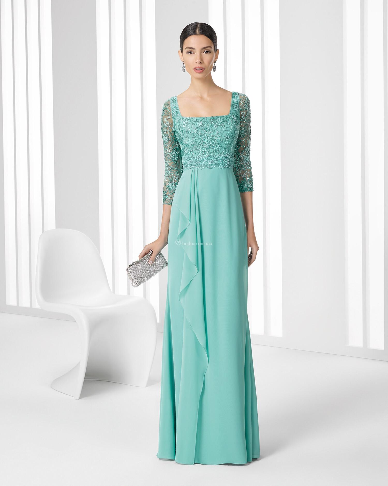 Perfect Vestido Novia Corto Rosa Clara Festooning - All Wedding ...
