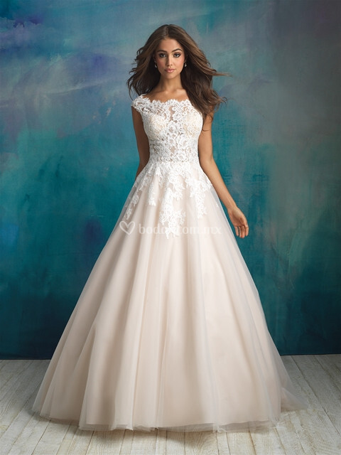De Bridals Allure Novia 2018mx Vestidos WHIYE2D9