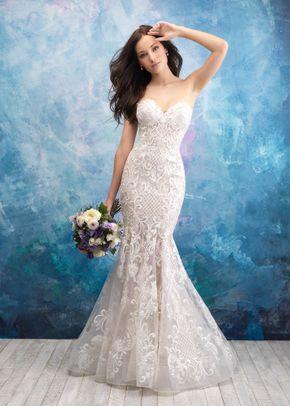 9560, Allure Bridals