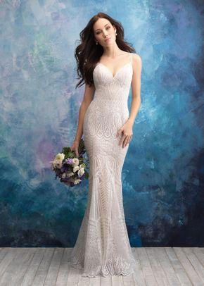 9564 , Allure Bridals