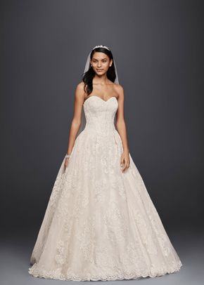 8000091, David's Bridal: Oleg Cassini