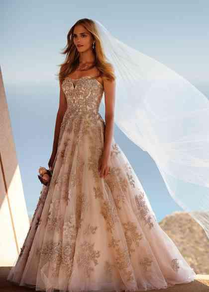 8000100, David's Bridal: Oleg Cassini