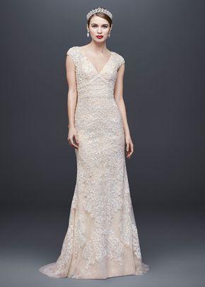 8001368, David's Bridal: Oleg Cassini