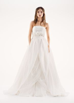 8000289 , David's Bridal: White By Vera Wang