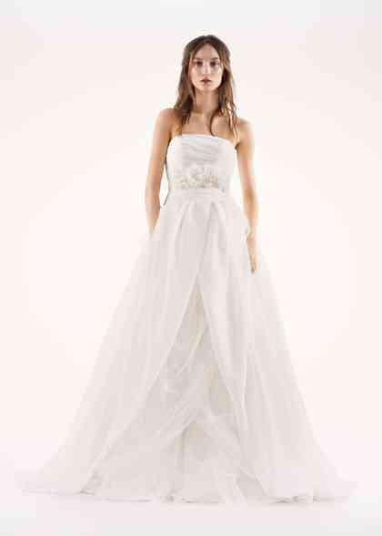 8000289, David's Bridal: White By Vera Wang