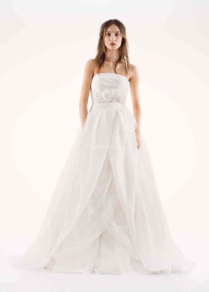 8000289, David's Bridal: White By Vera Wang