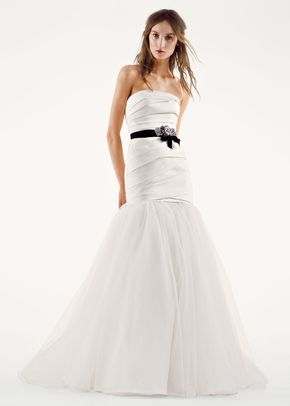 8000511, David's Bridal: White By Vera Wang