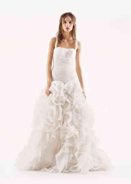 8000512, David's Bridal: White By Vera Wang