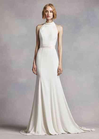 8000514, David's Bridal: White By Vera Wang
