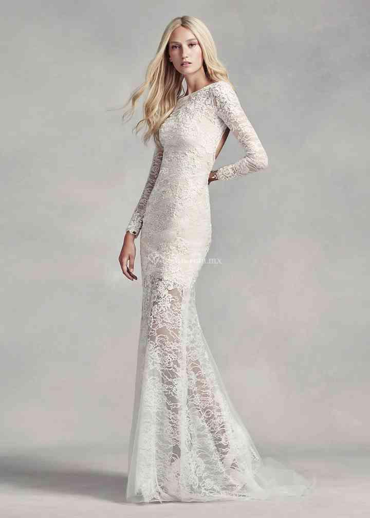 8000515, David's Bridal: White By Vera Wang