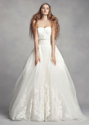 8000519, David's Bridal: White By Vera Wang