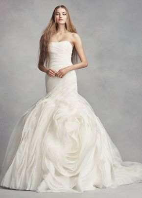 8000645, David's Bridal: White By Vera Wang