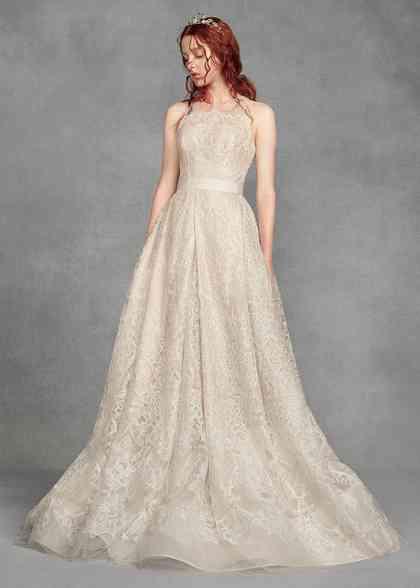 8000978, David's Bridal: White By Vera Wang