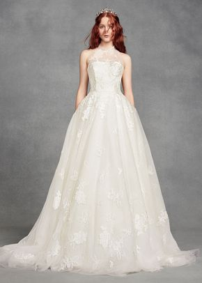 8001210, David's Bridal: White By Vera Wang