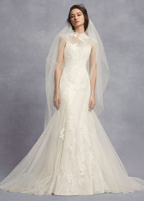 8000512, David's Bridal: White By Vera Wang