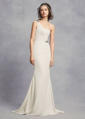 8001437, David's Bridal: White By Vera Wang