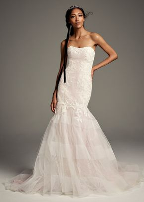 8002201, David's Bridal: White By Vera Wang