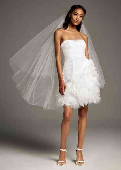 8002265, David's Bridal: White By Vera Wang