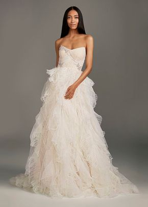 8002039, David's Bridal: White By Vera Wang