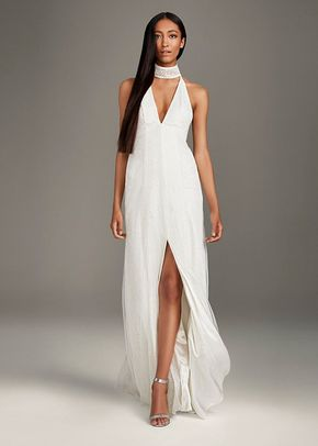 8003018, David's Bridal: White By Vera Wang