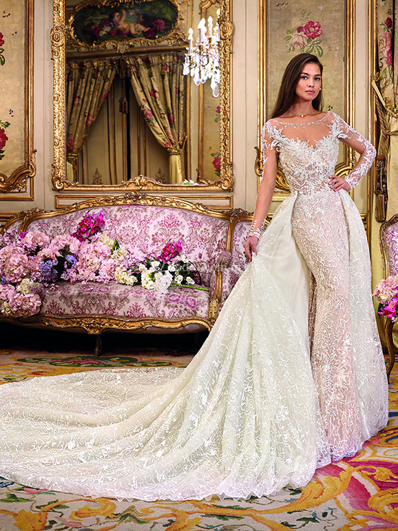vestido de novia de demetrios - dp364