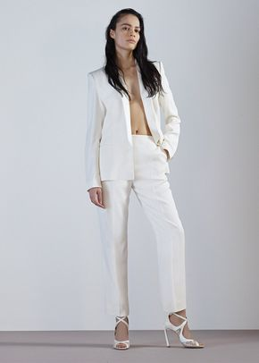 ANELISE TROUSERS-IVORY CREPE, 204