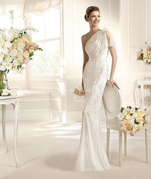 Mantua fashion vestido de novia la sposa - Mantua bagni catalogo ...