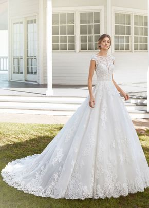 8000099, David's Bridal: Oleg Cassini