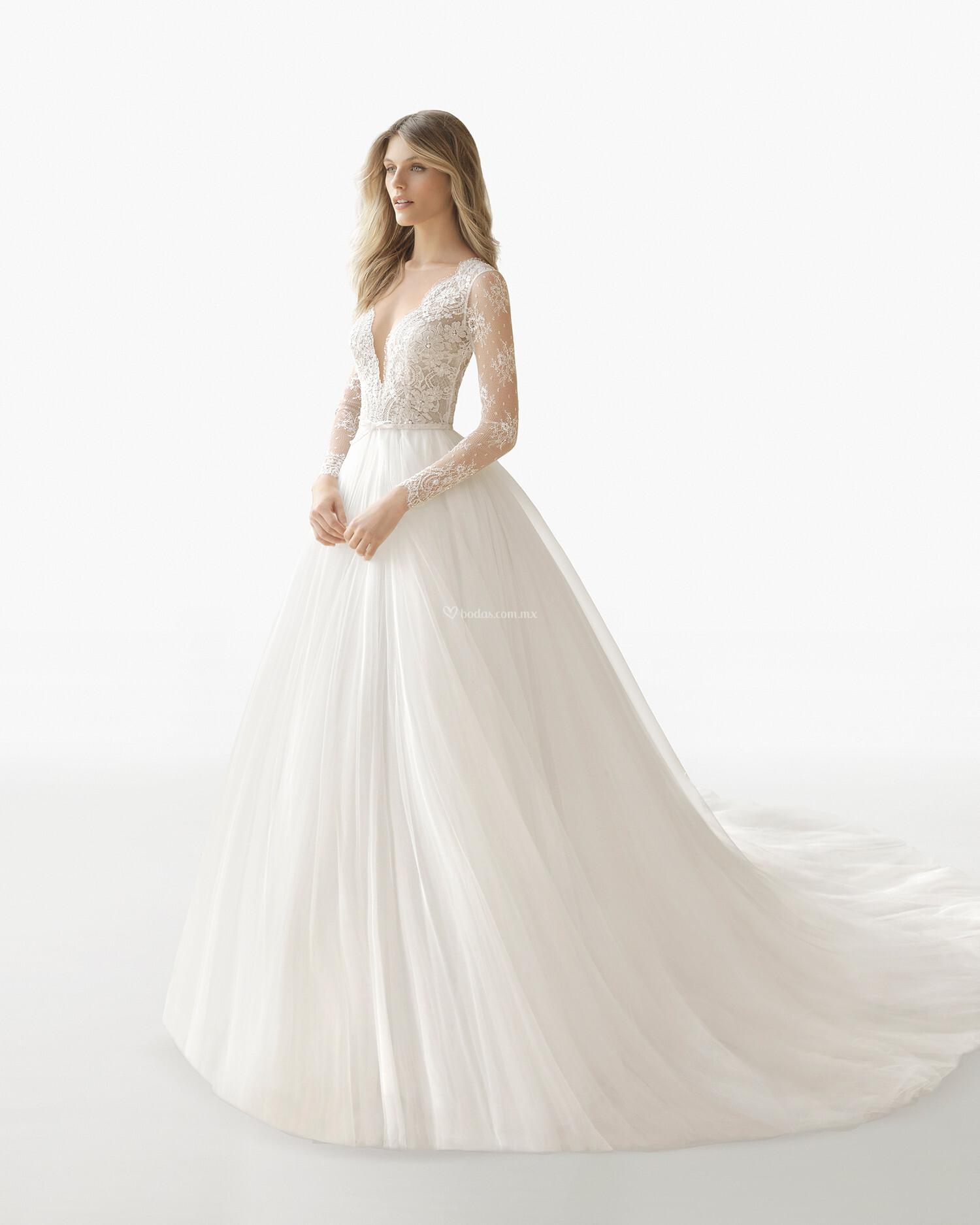 Vestidos de novia corte imperio precios