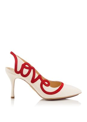 LOVE SHOES, Charlotte Olympia