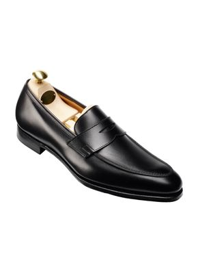 CRAWFORD Black Calf, Crockett & Jones