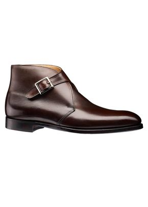 Dark Brown Wax Calf, Crockett & Jones