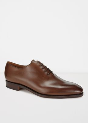 HARVARD II Dark Brown Suede, Crockett & Jones