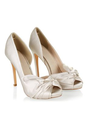 DAPHNE SATIN BOW PEEPTOE, Monsoon