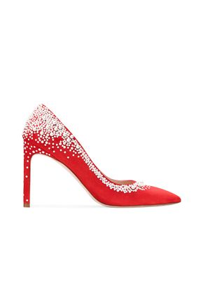 LUMINA 95 FOLLOW ME RED, Stuart Weitzman
