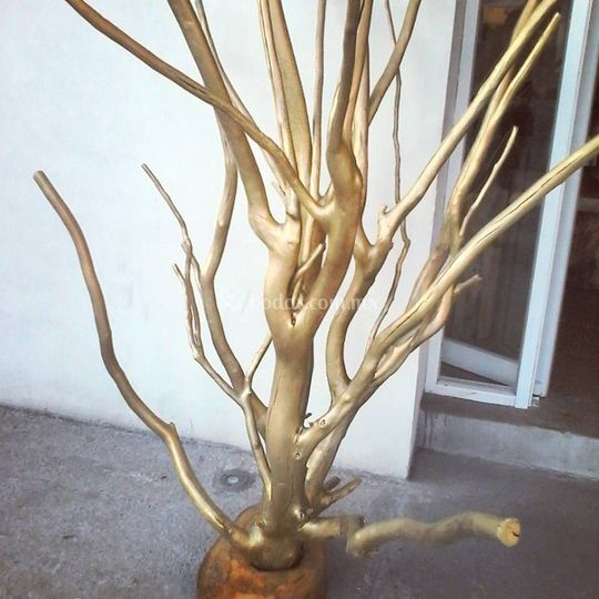 Árbol decoración