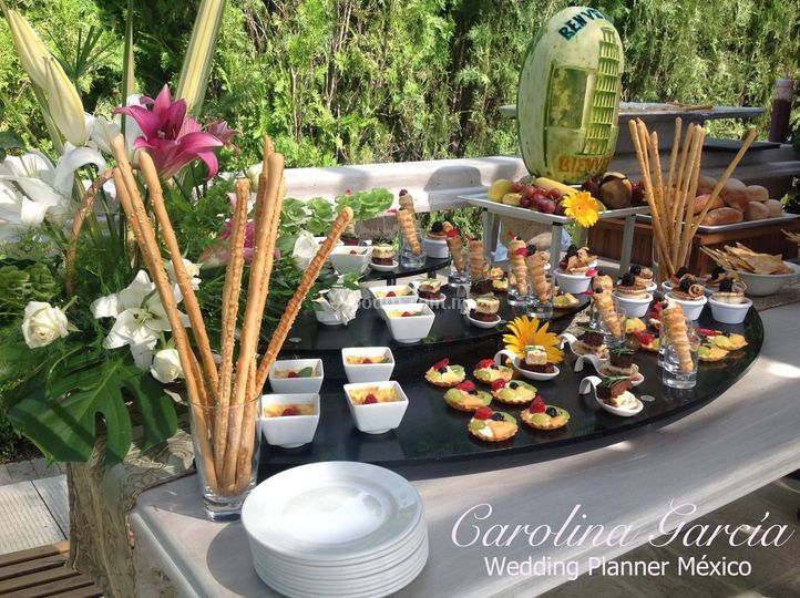 Mesa dulce. Jardines de Mexico